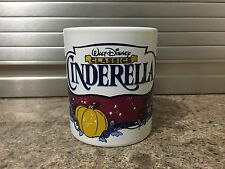 Walt Disney Classic Mug - Cinderella & Fairy Godmother Pumpkin Carriage - Gift