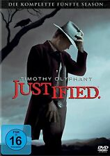 JUSTIFIED, Season 5 (Timothy Olyphant) 3 DVDs NEU+OVP