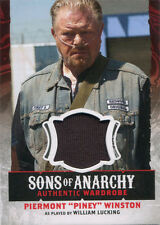 Sons of Anarchy Season 4 & 5 Wardrobe Costume Card W12 William Lucking as Piney