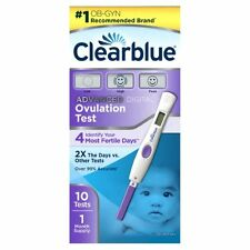 Clearblue Advanced Digital Ovulation Test 1 Month Supply - 10 Tests