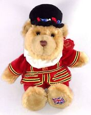 UK London KEEL Toys BEEFEATER BRITISH ROYAL TOWER GUARD Stuffed Plush TEDDY BEAR