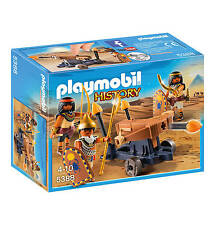Playmobil 5388 Egyptians Fire Ballista pharaoh catapult sword NEW BOXED SEALED