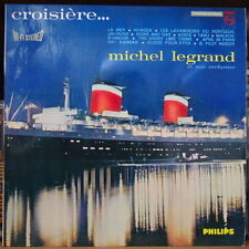 MICHEL LEGRAND CROISIERE... BOAT COVER RARE ORIG FRENCH LP