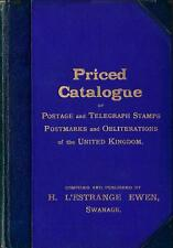 GB CATALOGUE 1895 Stamps Variety Underprint Control Postmarks POs/Army/Sea - CD