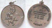 Medaglia Garibaldi divisione partigiana