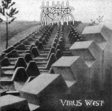 Nagelfar - Virus West CD 2006 reissue black metal Germany Van Records