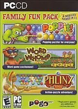 Pogo Family Fun Pack: Poppit! To Go / Word Whomp to Go / Phlinx to Go PC Games