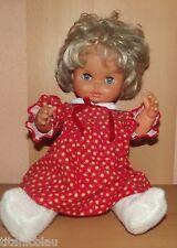 Ältere blonde Zapf Puppe mit Schlafaugen *