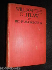 William The Outlaw by Richmal Crompton - c1927-1st - Vintage Children's Fiction