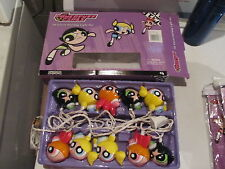 Powerpuff Girls 10 Count Holiday Light set wiht box NEW?