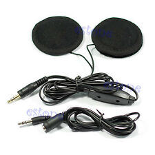 NEW Motorcycle Helmet Speakers Stereo For MP3 CD iPod Radio