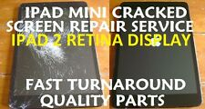 Ipad Mini 2 Retina Damaged Cracked Screen Replacement Repair Service Black White