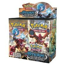 Pokemon XY Steam Siege Booster New Sealed TCG Card Game - 2 BOOSTER PACK