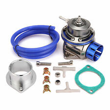 Tipo FV Universal 40mm Válvula De Descarga BOV ,Brida Kit Adaptador,Azul