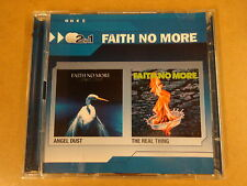 2-CD / FAITH NO MORE - ANGEL DUST - THE REAL THING