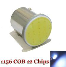 BA15s P21W 1156 12  LED COB 5W STOP RETROMARCIA POSIZIONI FRECCE R5W  BIANCA