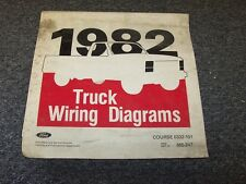 1982 Ford Bronco Courier Econoline Ranger Electrical Wiring Diagram Manual