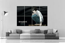 """Deat Note """"L""""  anime Manga Wall Art Poster Grand format A0 Large Print"""