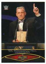 2015 Topps WWE Road to Wrestlemania Hall of Fame #15 Mr Wonderful Paul Orndorff