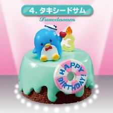 Re-Ment Miniature Sanrio Hello Kitty Birthday Cake # 4 Tuxedosam