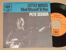 "PETE SEEGER -Little Boxes- 7"" 45"