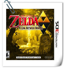 3DS THE LEGEND OF ZELDA A LINK BETWEEN WORLDS RPG Nintendo