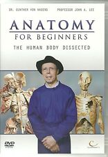 ANATOMY FOR BEGINNERS THE HUMAN BODY DISSECTED DVD - DR. GUNTHER VON HAGENS