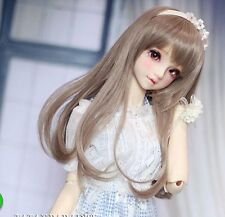 1 3 8-9 Bjd Wig Dal Pullip BJD SD LUTS MSD DOD DOC DD Dollfie Doll Long Toy wigs