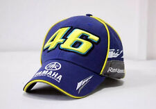 Blue 46 Rossi hat cap moto gp motorcycle f1 baseball cap hat