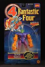 "1995 TOY BIZ MARVEL COMICS FANTASTIC FOUR SUPER SKRULL 5"" ACTION FIGURE MOC"