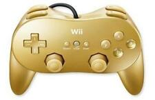 Nintendo Wii Club Nintendo Golden Classic Controller PRO for sale Japan Import