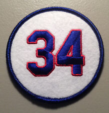 CLEARANCE SALE: NOLAN RYAN TEXAS RANGERS RETIRED JERSEY NUMBER 34 PATCH