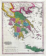 GREECE Greek history 66 antique maps of VILLAGES towns GENEALOGY old DVD