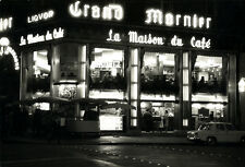 Photo Pierre Parente Paris la Nuit la Maison du Café Vers 1960