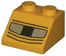 Missing Lego Brick 3039px36 Yellow Slope Brick 45 2 x 2 with Headlights Pattern