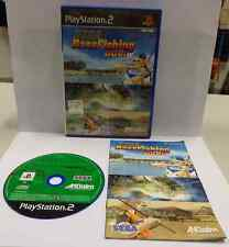 Game SONY Playstation 2 PS2 PSX2 PAL Solo il Gioco in ITA SEGA BASS FISHING DUEL