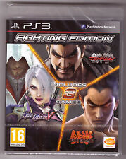 Fighting Edition: Tekken 6 & Tag Tournament 2 & Soul Calibur V (Playstation 3)