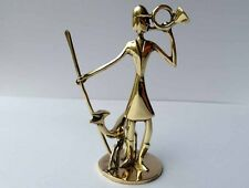 Art Deco Figur, Jagd,  Messing, Hagenauer