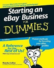 Starting an eBay Business for Dummies by Marsha Collier (2007, Paperback,...