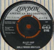 "HOLLYWOOD ARGYLES ~ ALLEY-OOP b/w SHO' KNOW A LOT LOVE ~ UK LONDON 7"" SINGLE"