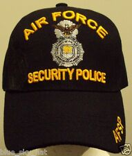 LICENSED DELUXE U.S. AIR FORCE USAF SECURITY MILITARY POLICE AP SP AFSP CAP HAT