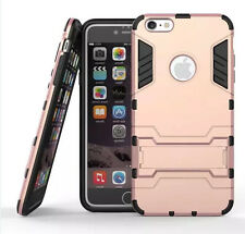 Iron Man Hybrid Armor Rugged Impact Shockproof Case Stand Cover For iPhone 6