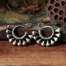 ETHNIC JEWELRY TRIBAL MIAO HANDMADE EARRINGS / JE001