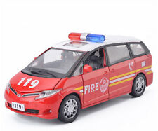 1:32 Toyota Previa Fire Truck/Ambulance truck Toy Car With Light & Sound