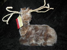 CUTE REINDEER WITH WOVEN ANTLERS - FROM CELEBRATE IT - NEW W' TAG THAT IS $39.99