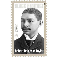 USPS New Robert Robinson Taylor Forever Stamp Sheet of 20