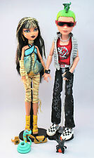 CLEO DE NILE AND DEUCE GORGON SET MONSTER HIGH DOLLS