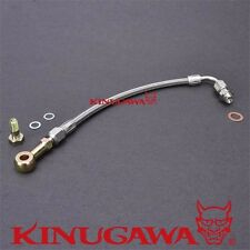 Turbo Oil Feed Line Kit For SUZUKI GSXR 1000 w/ Garrett GT25R GT28R Ball Bearing