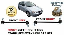FOR KIA CERATO 2004--  FRONT LEFT + RIGHT SIDE STABILISER SWAY LINK ROD BAR SET