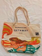 NCL Norwegian Cruise Line Getaway Inaugural Gift Tote Bag Dan Lebo Le Betard